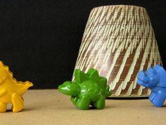 Dino Crayons (6 per packet) $8.00 felt.co.nz
