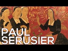"Paul Serusier: A collection of 152 paintings (HD) Description: ""The French symbolist painter, designer and art theorist Paul Serusier was an associate and fo. Maurice Denis, French Paintings, Pierre Bonnard, Edouard Vuillard, Paul Gauguin, Impressionist, Landscape Paintings, Colours, Fine Art"
