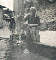 """Quando non c'era ancora l'acqua in casa si prendeva alla fontana pubblica, e si usava  """" Il bàgiul """""""
