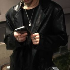 Danny Zuko, Muse, Leather Jacket, People, Fashion, Studded Leather Jacket, Moda, Leather Jackets, Fashion Styles
