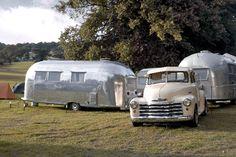 Old Airstream #caravan #camping #vintage #classic #airstream