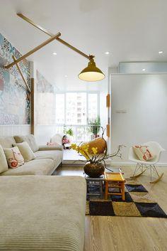 Яркая семейная квартира в центре Ханоя, Вьетнам —  результат работы Landmak Architect