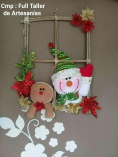 Claus Appliance Handle Covers - Set of 2 Christmas Clay, Felt Christmas Ornaments, Christmas Sewing, Christmas Projects, Winter Christmas, Christmas Time, Christmas Makes, Christmas Wreaths, Elf Christmas Decorations