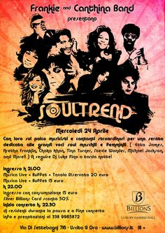 Soultrend con Frankie & Canthina Band!