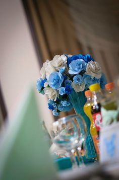 Aranjament floral botez !