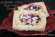 Raspberry Almond Cream Cheese Danish...easy and delicious!