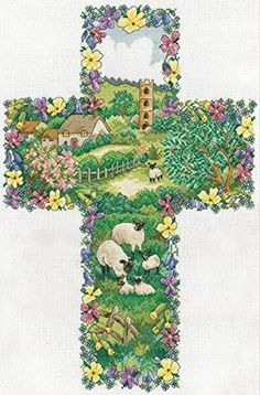 Design Works Pastoral Cross Counted Cross-Stitch Kit Design Works http://www.amazon.com/dp/B00RA2FRZY/ref=cm_sw_r_pi_dp_dnG5vb0XN69ZX