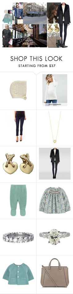 """Taking Charlotte out for lunch and then dropping her off at the airport with Paul and Josephine"" by swedish-princess ❤ liked on Polyvore featuring ASOS, Pip + Vine, Georg Jensen, Chaumet, L.K.Bennett, Jimmy Choo and Yves Saint Laurent"