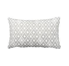 Throw Pillow Cover Grey Pillow Sham Gray Pillow Cover