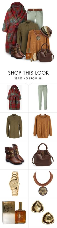 """""""Cozy Autumn Set"""" by franceseattle ❤ liked on Polyvore featuring Delpozo, Jacob Cohёn, Jaeger, Etienne Aigner, CO, Gucci, NOVICA, Revlon, Charter Club and prAna"""