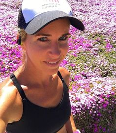 Spring has sprung! It was wildflower galore during this afternoon's 7 miler. I don't usually take pictures of myself when I'm running without dogs, but I was drawn to these bright purple flowers and felt compelled to stop, 3 miles in! . . . #saturday #runhappy #flowers #wildflower #gorgeous #scenery #running #instarunners #flowerpower #spring #flower #sunshine #springtime #happyday #running #5k #training #fitspiration #healthylifestyle #instahappy #fitspo #sandiego #lajolla #delmar…
