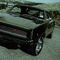 1968 Dodge Charger R/T Avatar - Dreaming In Green by Scott Crawford, via 500px