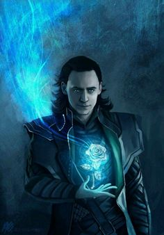 I love the use of colour in relation to the character. The artist has taken careful consideration as to who Loki is and what he is like to make a compelling image that is true to the character. I hope to use this careful planning to make my images more compelling.
