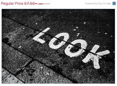 ON SALE Look  London photography  black and white  by LeShopUK, £5.95