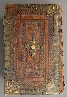 Breviarium Romanum, Jan van Keerberghen. 1606. Made in, Antwerp. Flemish  Paper, brass, leather, wood.  Dimensions: 15.5 in x 10.125