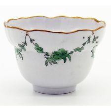 Antique English Porcelain : Rare 18th century Bristol Tea Bowl C.18thC
