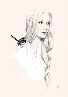 Fashion Illustration By Artist Sharntay
