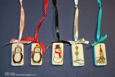 DRS Designs Rubber Stamps: Christmas Ornaments