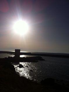 Beautiful sunset  Sardinia