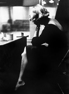 Marlene Dietrich photographed by Eve Arnold, 1952.