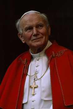 #264: St. John Paul II (1978 - 2005) Catholic Art, Catholic Saints, Roman Catholic, Religious Art, Paul 2, Pope John Paul Ii, Papa Francisco, Pape Jeans, Jesus And Mary Pictures