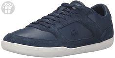 Lacoste Men's Court-Minimal 316 1 Cam Fashion Sneaker, Navy, 12 M US (*Amazon Partner-Link)
