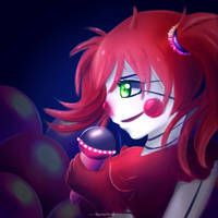 I drew this to see how the new tabled works and because I like fnaf! Fnaf 5, Anime Fnaf, Yandere, Sister Location Baby, Baby Pizza, Cute Animal Quotes, Fnaf Baby, Circus Baby, Fnaf Drawings