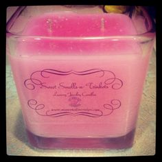 22 oz Cotton Candy Sweet Smells n Trinkets Jewelry candle