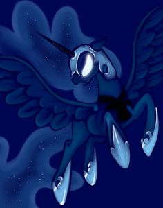 Nightmare Moon by glittering-pony.deviantart.com on @deviantART