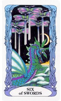 May 27 Tarot Card: Six of Swords (Moon Garden deck) Things are moving and changing for the better now. Get away from your everyday life to enrich your mind and spirit with positivity