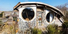 """Airbnb Owl House - Located in the seaside village of Hightown, United Kingdom, the house is a totally unique garden-style escape, with a """"bird's eye view."""""""