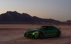 Mercedes-Benz AMG GT, sports car, landscape