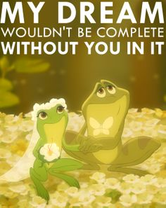 Have you watched The Princess and the Frog recently?