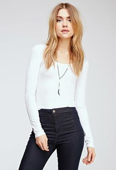 Ribbed Knit Top | Forever 21 Canada