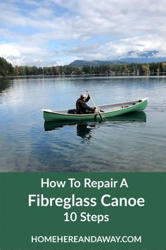 Repairing a Fibreglass Canoe was my husband Mikes Cabin Project. The canoe was purchased knowing it needed a lot of work but Mike was up for the challenge! Here are 10 Steps to Repairing a Fibreglass Canoe. Rv Camping Tips, Canoe Camping, Canoe Trip, Kevlar Canoe, Outdoor Spaces, Outdoor Living, Columbia Outdoor, Outdoor Projects, Logs