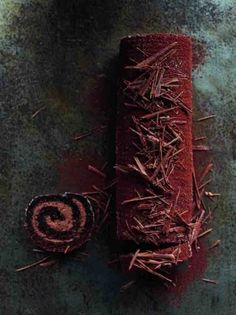 ... chocolate swiss roll ...