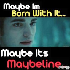 They spelled maybelline wrong