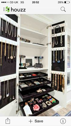 Awesome jewellery cupboard