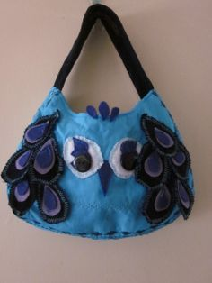Peacock bag. £20.00 excluding postage and packing. www.facebook.com/happyhayes.bespokebagsandaccessories