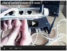 How to connect router to router
