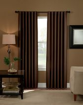 Curtainworks has GREAT curtains at really good prices!!  Saville Solid Thermal Room Darkening Drape