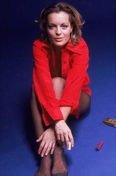 Romy Schneider by Eva Sereny, 1972