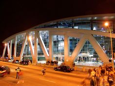Philips arena, Atlanta, Georgia, USA -home of the Hawks (NBA) & Dream (WNBA)