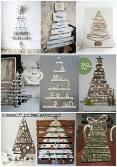 Love these christmastrees!