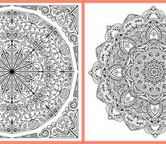 Mandala Colouring In Pages