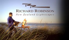 Richard Robinson Gallery - Impressionist Oil Paintings, DVD Lessons, How to Paint.