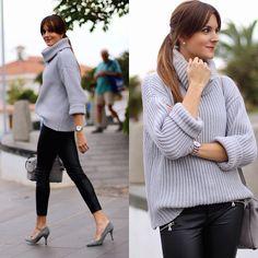 Get this look: http://lb.nu/look/8066028  More looks by Marianela Yanes: http://lb.nu/marilynscloset  Items in this look:  Sheinside Sweater, Stradivarius Pants, Mango Heels, Michael Kors Bag, Calvin Klein Watch   #casual #chic #elegant