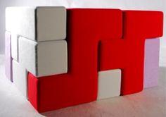Tetris-Style Multipurpose Furniture