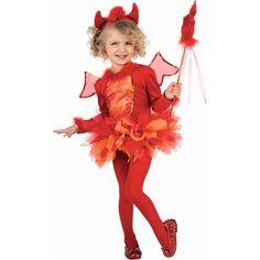Costume fille Petit démon tutu (1-2 ans) : Rubie's - Halloween - Berceau Magique