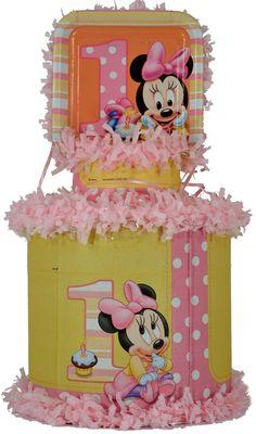 World of Pinatas - Minnie Mouse 1st Year Pinata, $27.99 (http://www.worldofpinatas.com/minnie-mouse-1st-year-pinata/)
